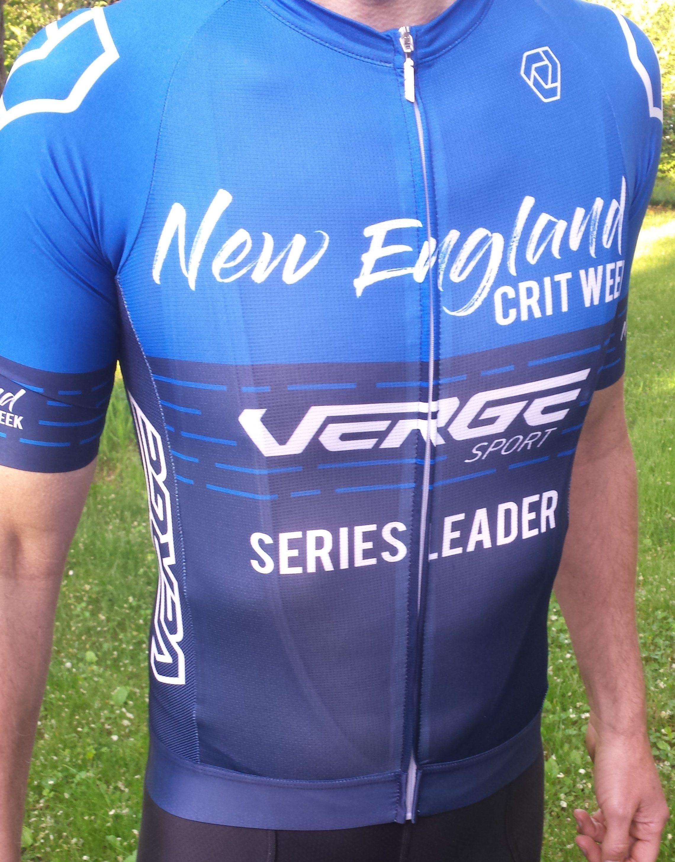 Verge Sport leaders jerseys are in!